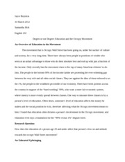 Qualitative Research Paper (education movement)