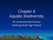 APES_Chapter_6_Aquatic_Biodiversity