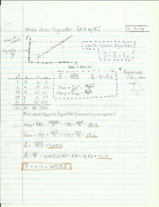 Simple Linear Regression Lecture Notes