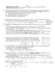Statistics Practice Quiz Review