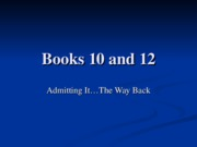 Books 10 and 12