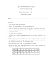 172B Midterm 2 Solutions