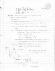 Notes 2-25 to 3-7-09