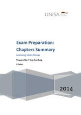 Exam Preparation_Chapters Summary_2014