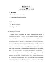 Lesson-1 Meaning of Research.pdf