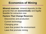 Lecture 10 - Mineral Resources(1)