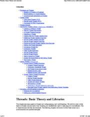Threads_ Basic Theory and Libraries
