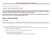 Chem 140A Lecture Notes   Spring 2013 Ch 1  The Basics