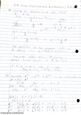 linear approximations and differentials notes