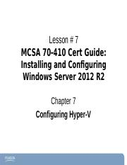 Chapter7Windows2012-70-410 ce