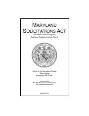 MarylandSolicitationAct