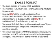 Exam 3 Review pics on CH 9 and CH 10 FALL 2014