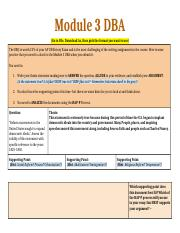 Module 3 DBA Assignment.docx