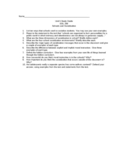 unit 5 study guide edl200