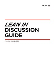 Lean In Discussion Questions