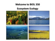 BIOL 350 Lecture 1 Sept 14