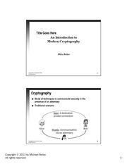lecture notes_Cryptography