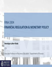 FINA3304_Session 5_Spring 16_Financial Regulation_30March16