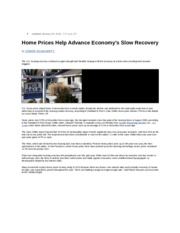 Fin_408_Reading_14A_Home_Prices_Advance_Economy_s_Slow_Recovery