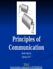 Intro to basics of communication