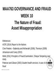 MAA763+Lecture+Notes+-+Week+10++-+Asset+Misappropriation+-+Student+Version.pdf