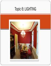 Topic 6 LIGHTING.pdf