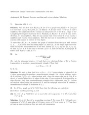 MATH 350 Fall 2014 Homework 4 Solutions