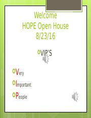 Open House powerpoint16