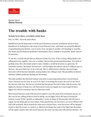The Economist - The Trouble with Banks-1