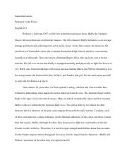 Buffy the Vampire Slayer Critical Analysis.pdf