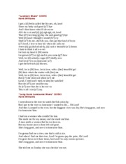 Unit 6 Lyrics
