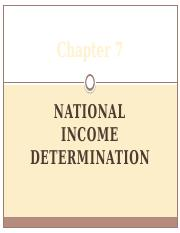 MACRO Chapter 7 NATIONAL INCOME DETERMINATION.pptx