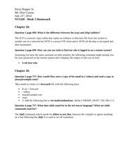 nt1430 week 5 homework