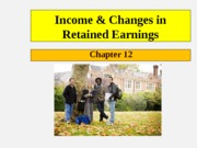 Ch 12 - Retained Earnings(2)