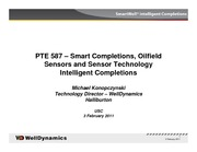 WellDynamics Introduction to Intelligent Wells v1