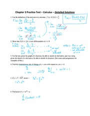 Chapter 3 Online Practice Test Solutions