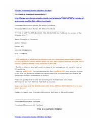 principles of microeconomics 6th edition pdf