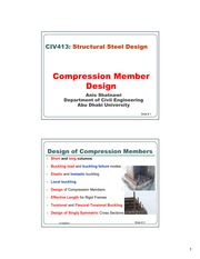 Shatnawi Ch4- Compression members-1