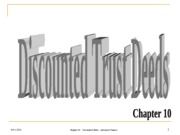 10 Chapter Discounted Trust Deed