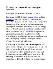 11.16 21 things they never tell you about poor countries.pdf
