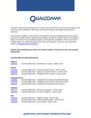 QualCommHiring