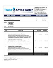 GG Engineering_Kilimanjaro Complex_quotation for the supply of water transfer pumps (GROSS)