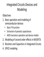lecture_4Integrated Circuits Devices and Modeling_1
