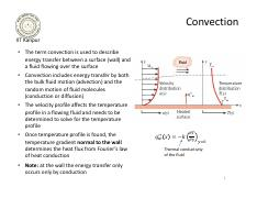 13 - Convection - heat transfer coefficient, governing equations cartesian coordinates.pdf