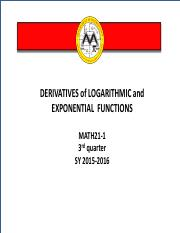 differentiation+of+logarithmic+and+exponential+functions