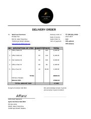 example of Delivery Order.xls