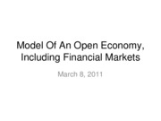 11-03-08-The Complete Model Of An Open Economy
