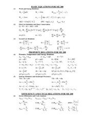 ME200 EquationSheet 2011Spring