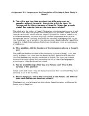 hawaiian 3-2 part2 docx - 1 Describe each of the akua(Kāne