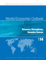 Current Issues (11) - IMF (WEO, April 2014)